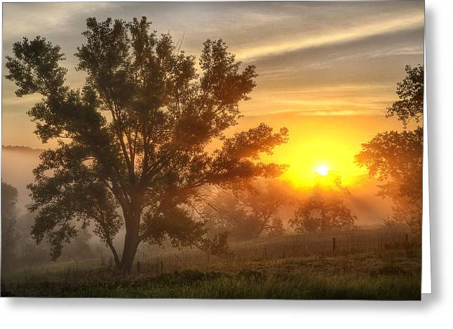 Father's Day Sunrise Greeting Card