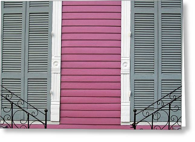 Fauberg Marigny IIi Greeting Card by Chris Moore