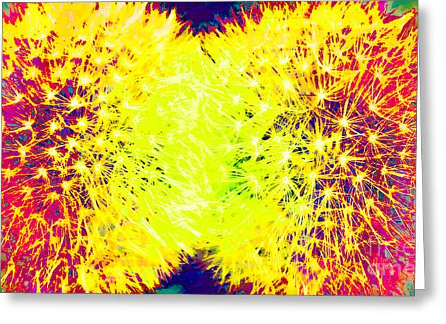 Fauvism Fun 4 Greeting Card by Barbara Griffin