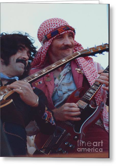 Favorite Of Manny Charlton And Zal Cleminson - Nazareth At Day On The Green 2 - 4th Of July 1979  Greeting Card