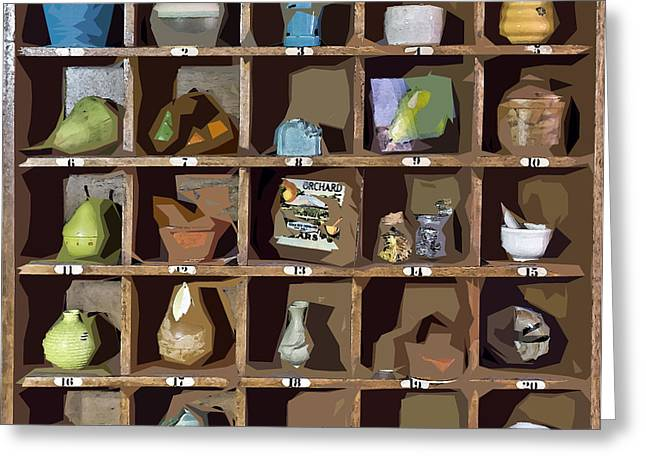Favorite Things 2 Greeting Card by Patrick M Lynch
