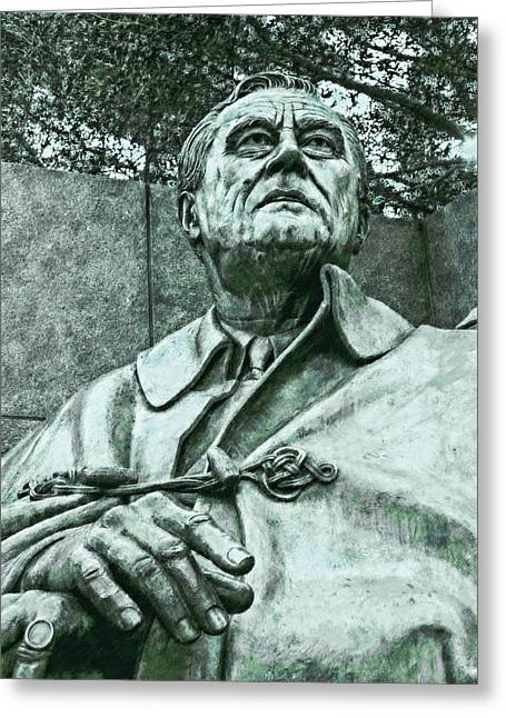 Fdr - 3164 Chalk 1 Hp Greeting Card