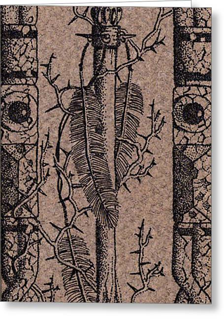 Feathers Thorns And Broken Arrow Bookmark No1 Greeting Card
