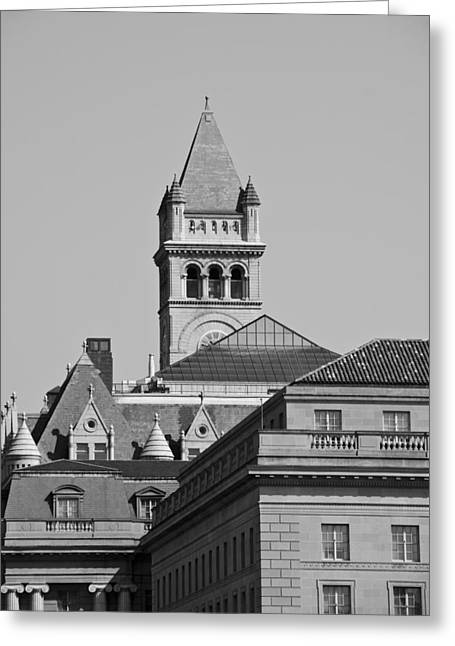 Federal Triangle In Dc Greeting Card