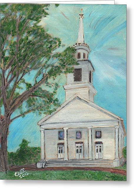 Federated Church Greeting Card