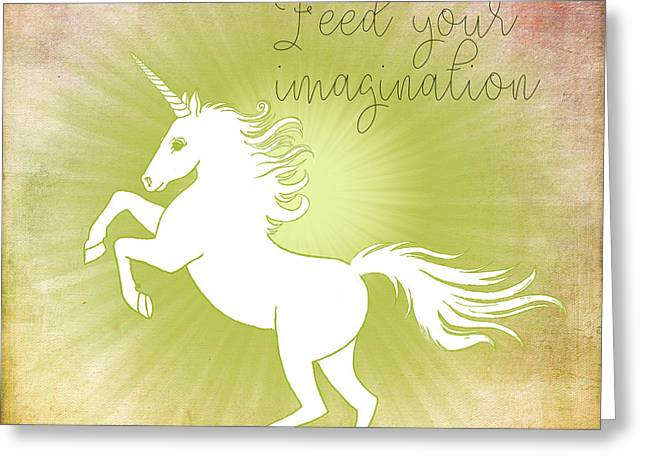 Feed Your Imagination Greeting Card