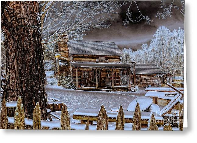 Feel The Warmth Greeting Card by Brenda Bostic
