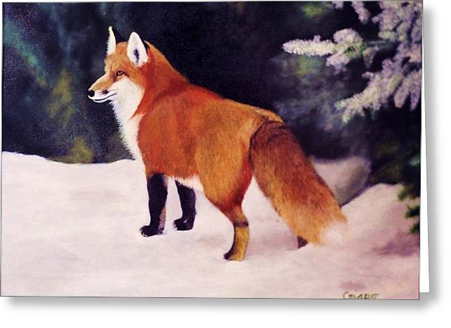 Feeling Foxy Greeting Card
