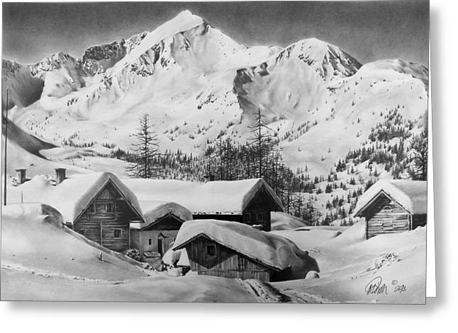 Felseralm Greeting Card