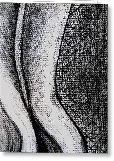 Female Nude The Backside Greeting Card