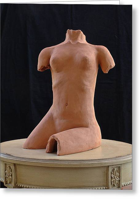 Female Torso 1 Greeting Card