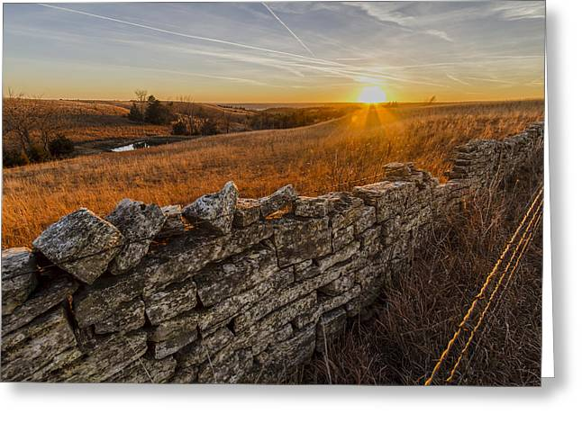 Fences Greeting Card