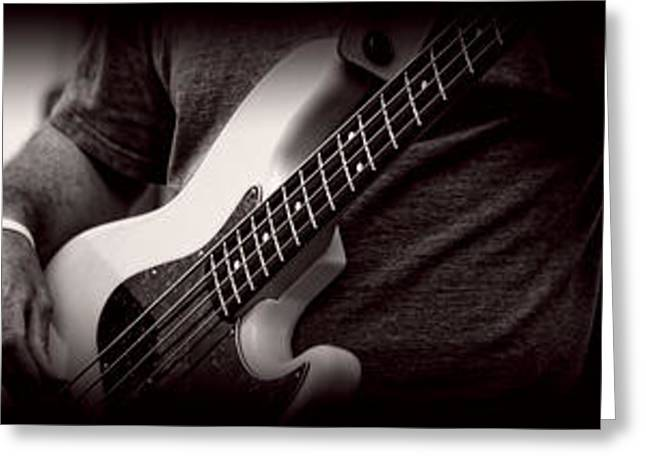 Fender Bass Greeting Card
