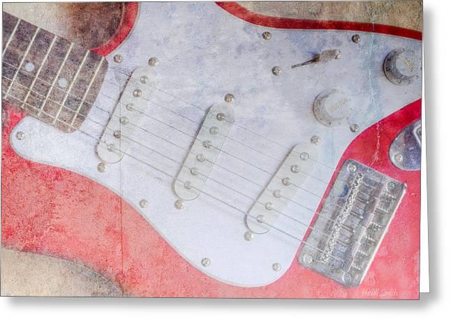 Fender Greeting Card by Heidi Smith