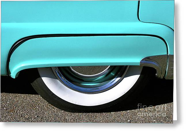 Fender What - 1955 Ford Greeting Card