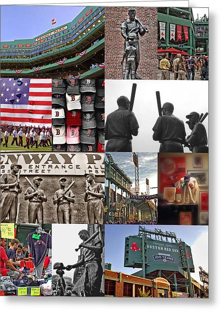 Fenway Memories Greeting Card