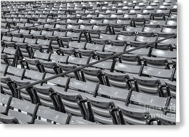 Fenway Park Grandstand Seats II Greeting Card