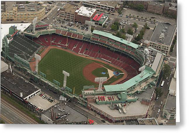 Fenway Park Greeting Card by Joshua House