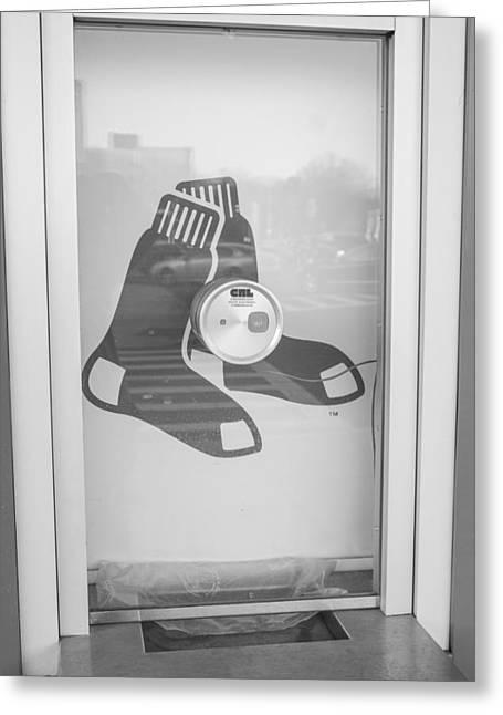 Fenway Park Ticket Window Greeting Card by John McGraw