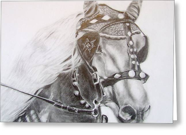 Fer A Cheval Greeting Card