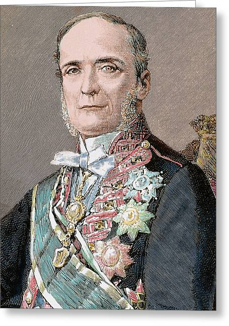 Ferdinand Calderon Collantes (1811-1890 Greeting Card by Prisma Archivo