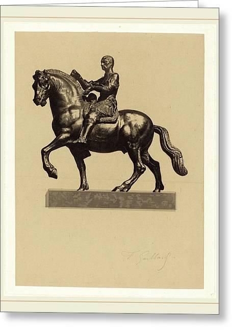 Ferdinand Gaillard After Donatello French Greeting Card