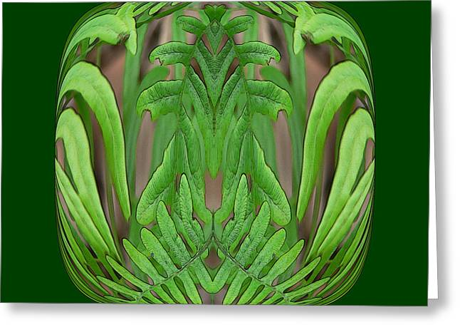 Fern Brain Greeting Card