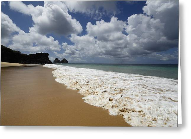Fernando De Noronha Island Brazil 1 Greeting Card by Bob Christopher
