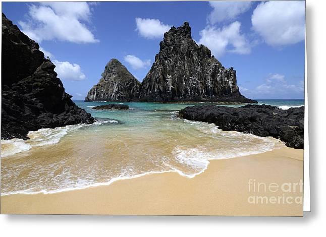 Fernando De Noronha Island Brazil 4 Greeting Card by Bob Christopher