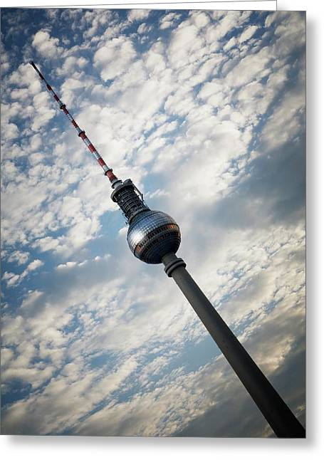 Fernsehturm To Tower Greeting Card