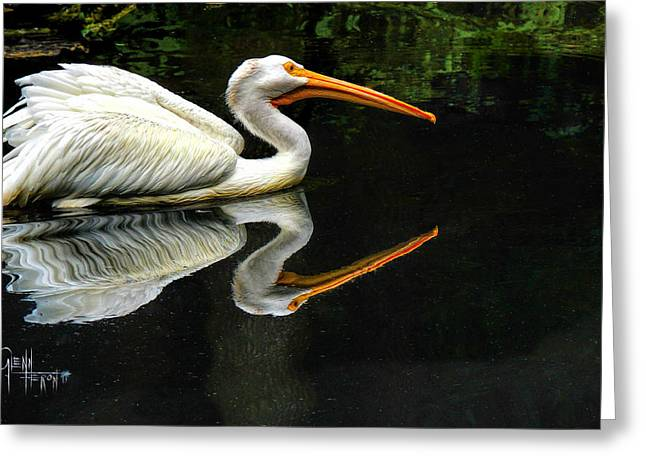 Feron's Heron Greeting Card
