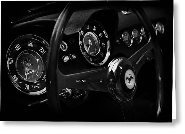 Ferrari 250 Gt Interior Greeting Card by Mark Rogan