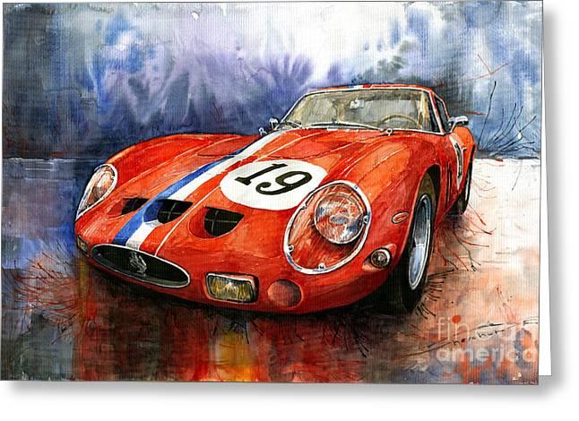 Ferrari 250 Gto 1963 Greeting Card