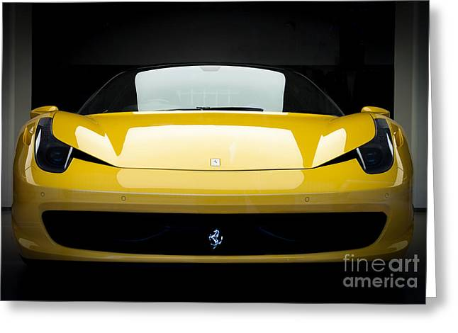 Ferrari 458 Greeting Card