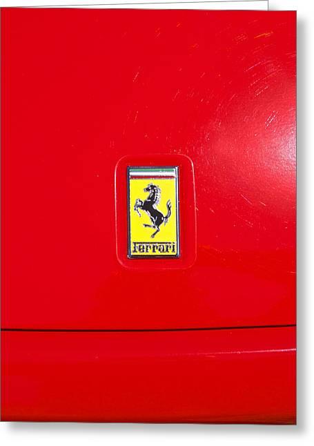 Ferrari Badge 4 Greeting Card