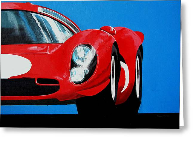 Ferrari P4 Greeting Card
