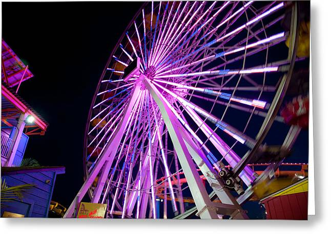 Ferris Wheel Greeting Card