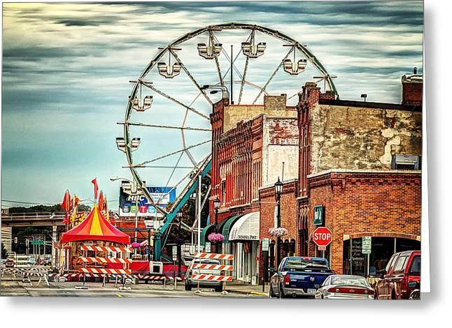 Ferris Wheel In Winona Greeting Card