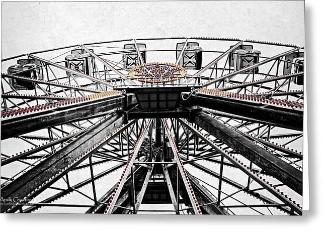 Ferris Wheel Lights Greeting Card