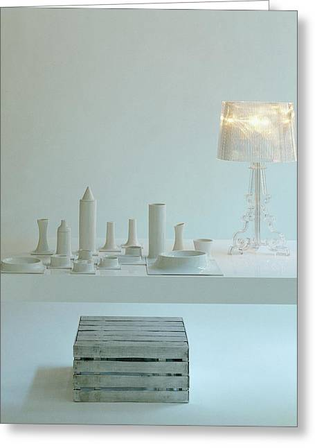Ferruccio Laviani's Bourgie Lamp From Kartell Greeting Card