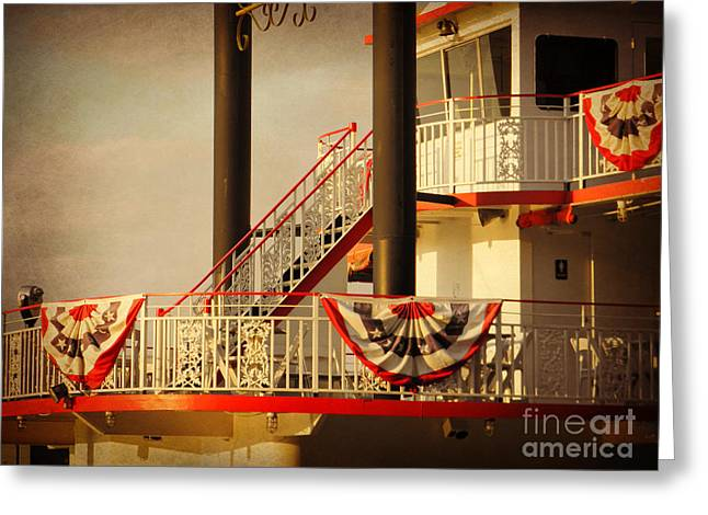 Ferry Bunting Greeting Card