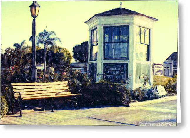 Ferry Landing Afternoon Greeting Card