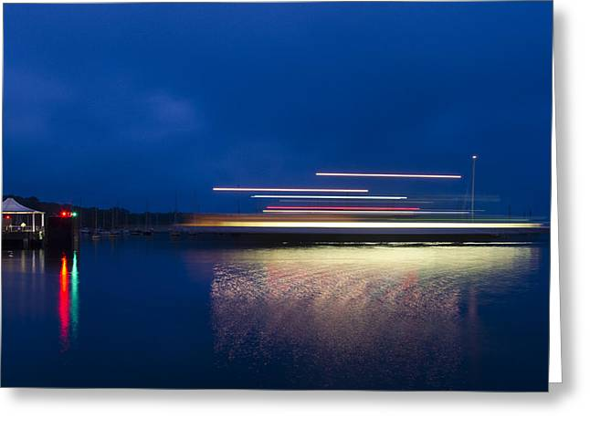 Ferry Light Greeting Card