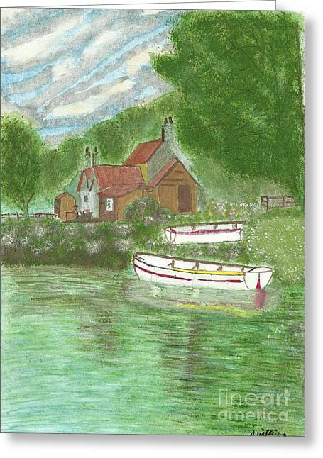 Ferryman's Cottage Greeting Card