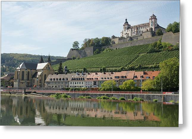 Festung Marienberg Greeting Card