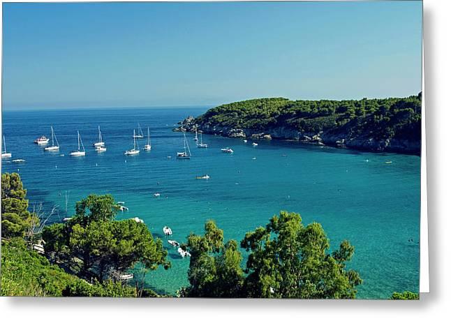 Fetovaia, Isola D'elba, Elba, Tuscany Greeting Card by Nico Tondini