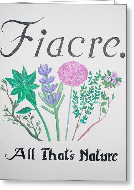 Fiacre Greeting Card