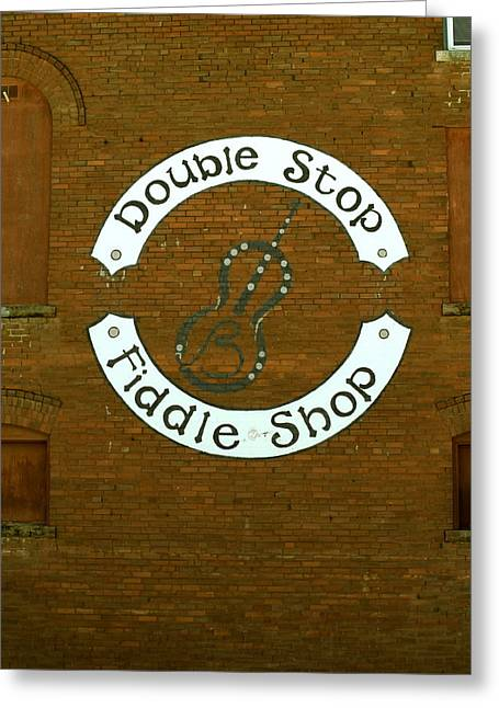Fiddle Fixin' Greeting Card