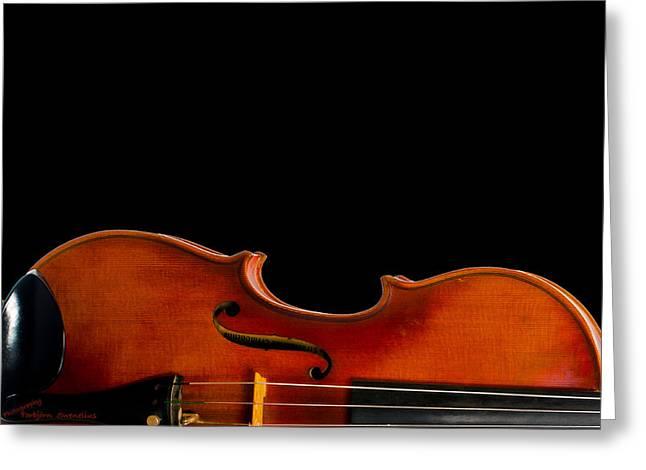 Fiddle' Waist Greeting Card