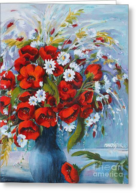 Field Bouquet 2 Greeting Card